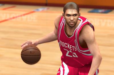 NBA 2K14 Chandler Parsons Cyberface Mod
