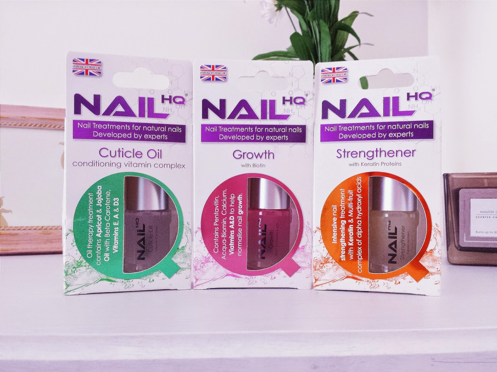 Nail HQ Cuticle Oil, Nail Growth & Nail Strengthener