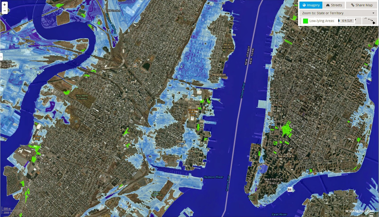 Arctic News More Than M Sea Level Rise By - Global warming sea level rise map