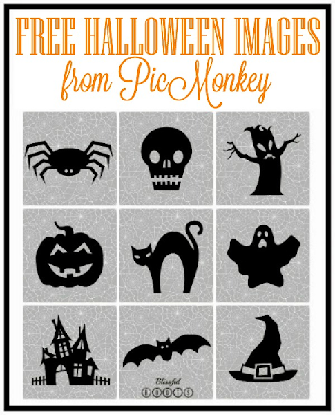 Free Halloween Images from PicMonkey @ Blissful Roots