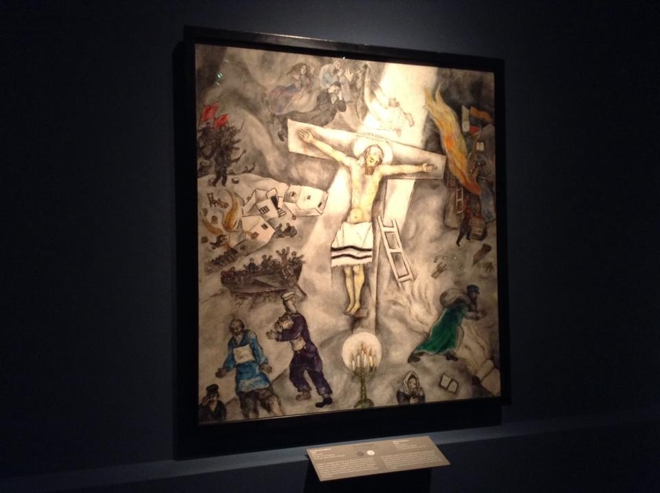 Call Me Jorge...: Francis' noahide religion of holocaustianity Chagall White Crucifixion Pope Francis