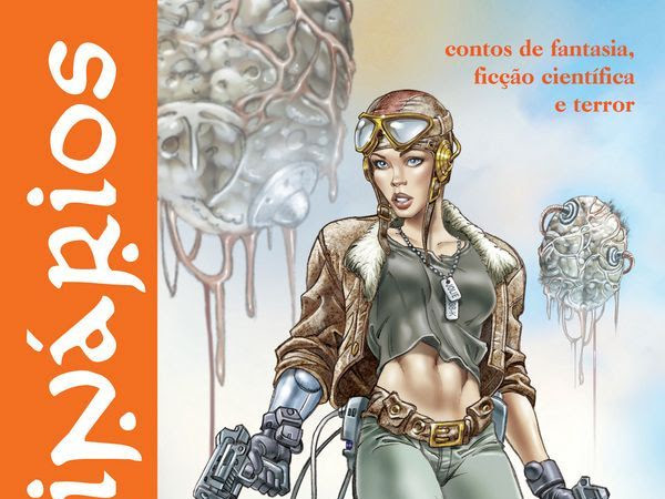 Imaginários Volume 3, de vários autores, Editora Draco