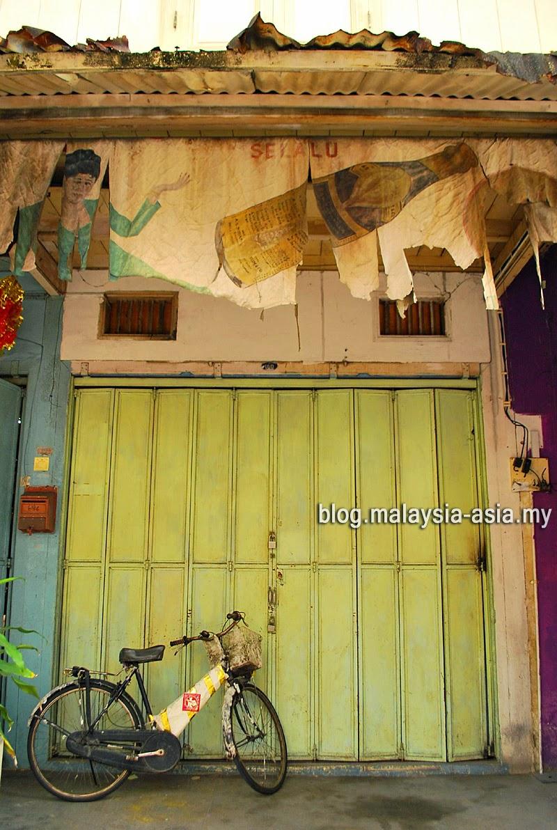 Terengganu Chinatown Shophouses