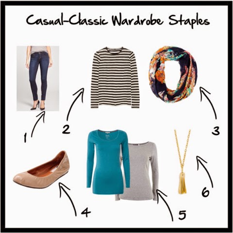 Casual Classic Wardrobe Staples for Moms