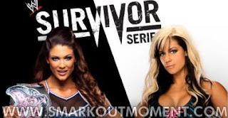 Watch WWE Survivor Series 2012 PPV Online Divas Title Match Eve vs Kaitlyn