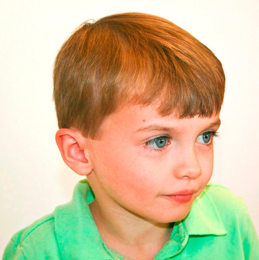 Детская прическа фото мальчик