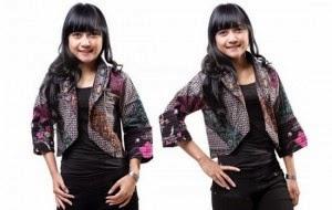 Foto Baju Batik Non Formal
