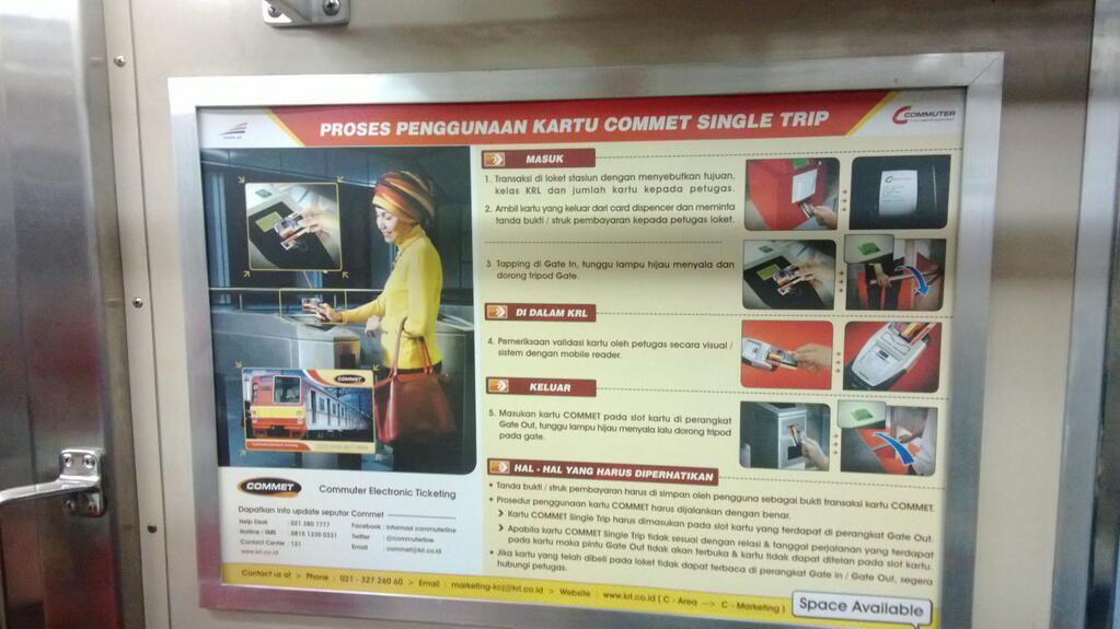 Commuter Electronic Ticketing