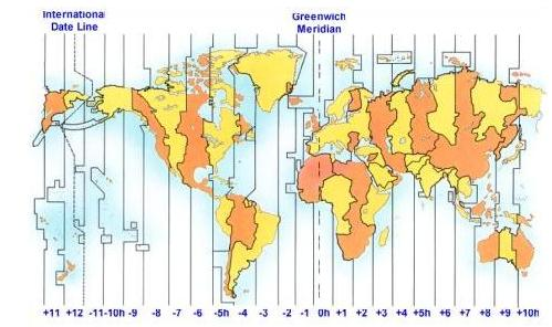 Time Zone Differences The Making Of A Lawyer Random Ramblings - Time differences in us