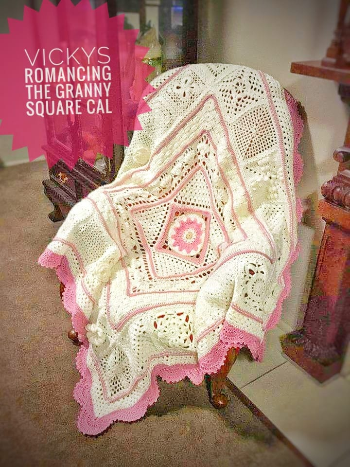 Vicky's Romancing the Granny Square Cal 2019