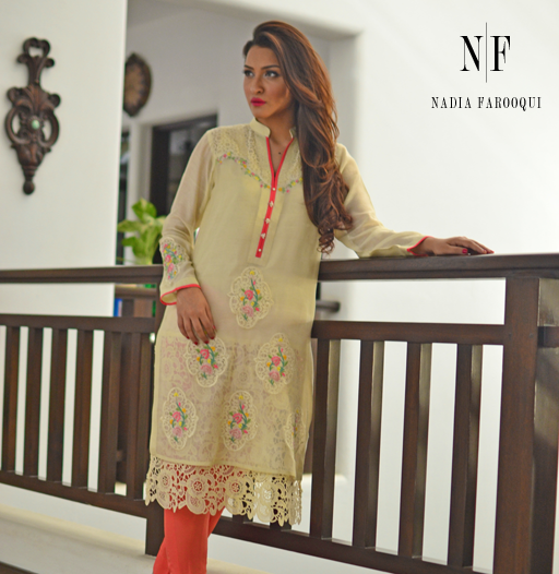 Party Wear Dress Collection 2015 by Nadia Farooqui