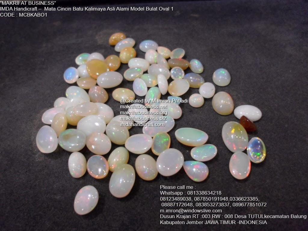 Mata Cincin Batu Kalimaya Opal : Kerajinan Handicraft Mata Cincin Batu