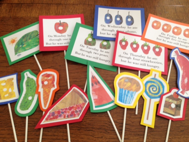 Exceptional image inside the very hungry caterpillar story printable