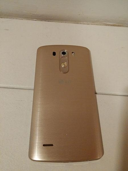 Golden LG G3