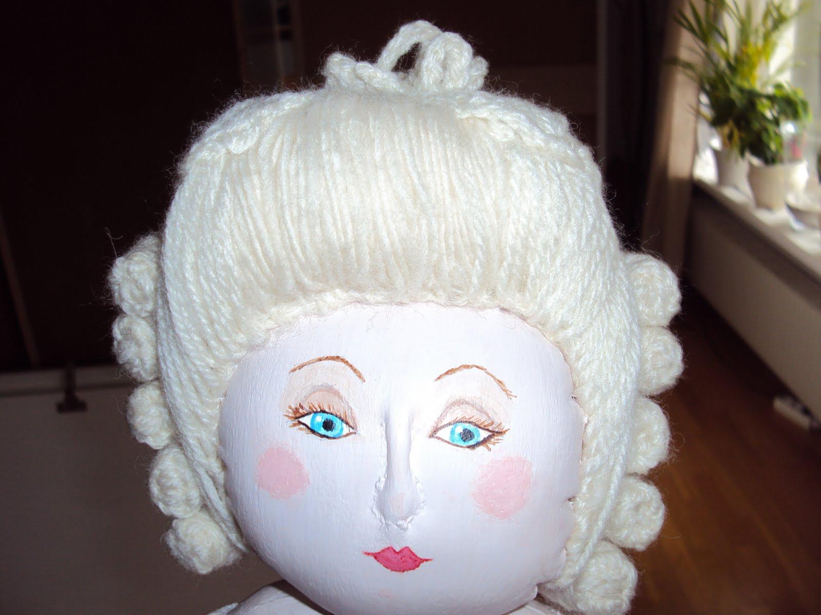 how to make marie antoinette hair