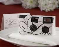 Wedding Favors, disposable cameras