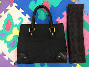 Gucci Black Monogram GG Tote Bag(SOLD)