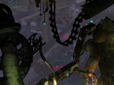 Final Fantasy 7 Junk Heap Dungeon