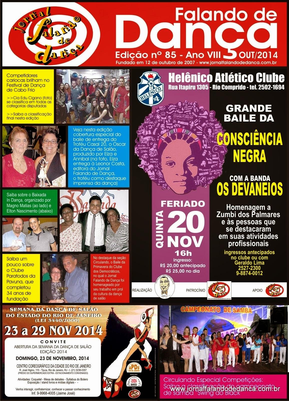 Leia on line a ed 85 (Outubro/2014)