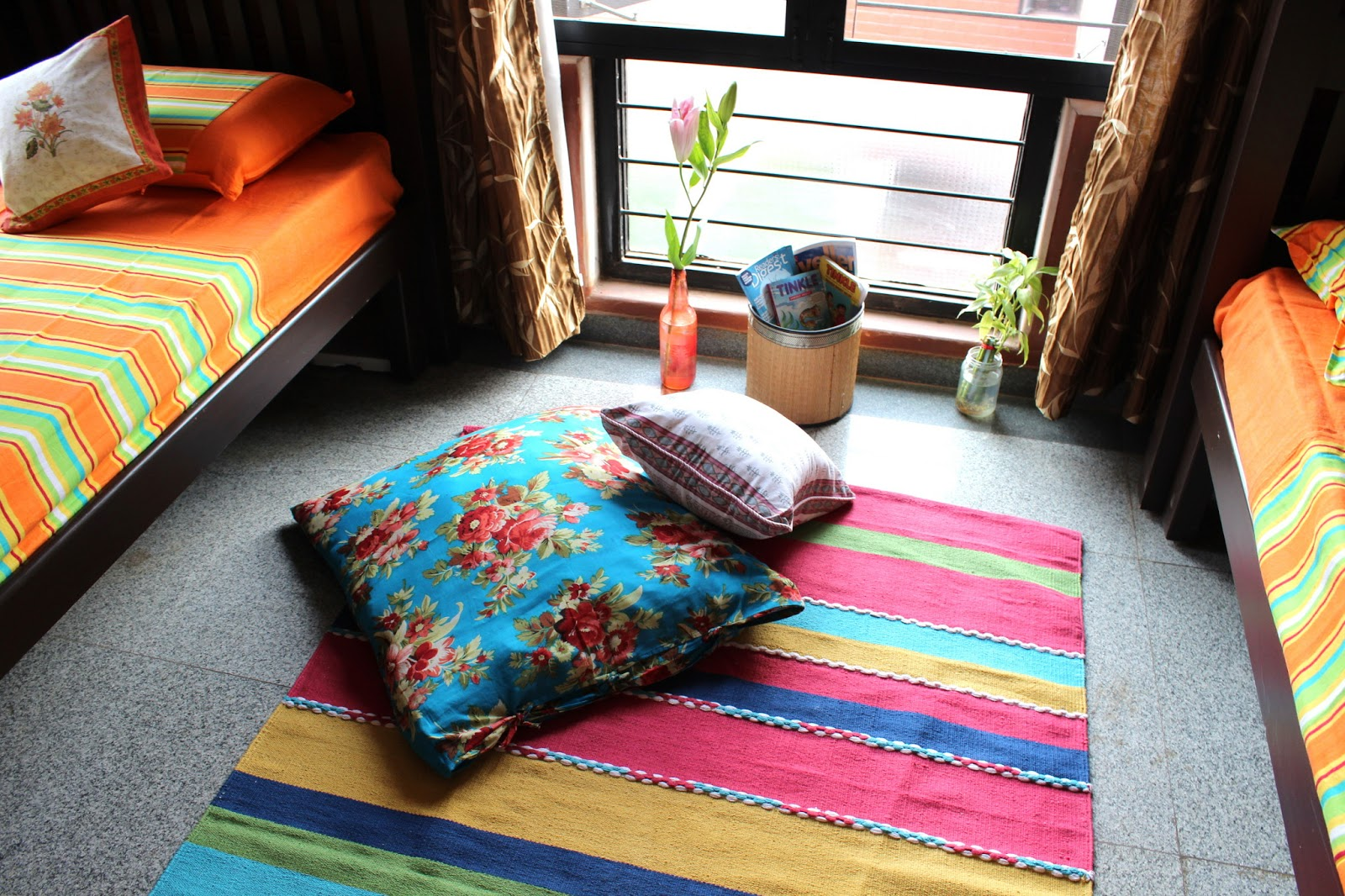 Deepa and Srirams Summer Decor in their Bangalore home The