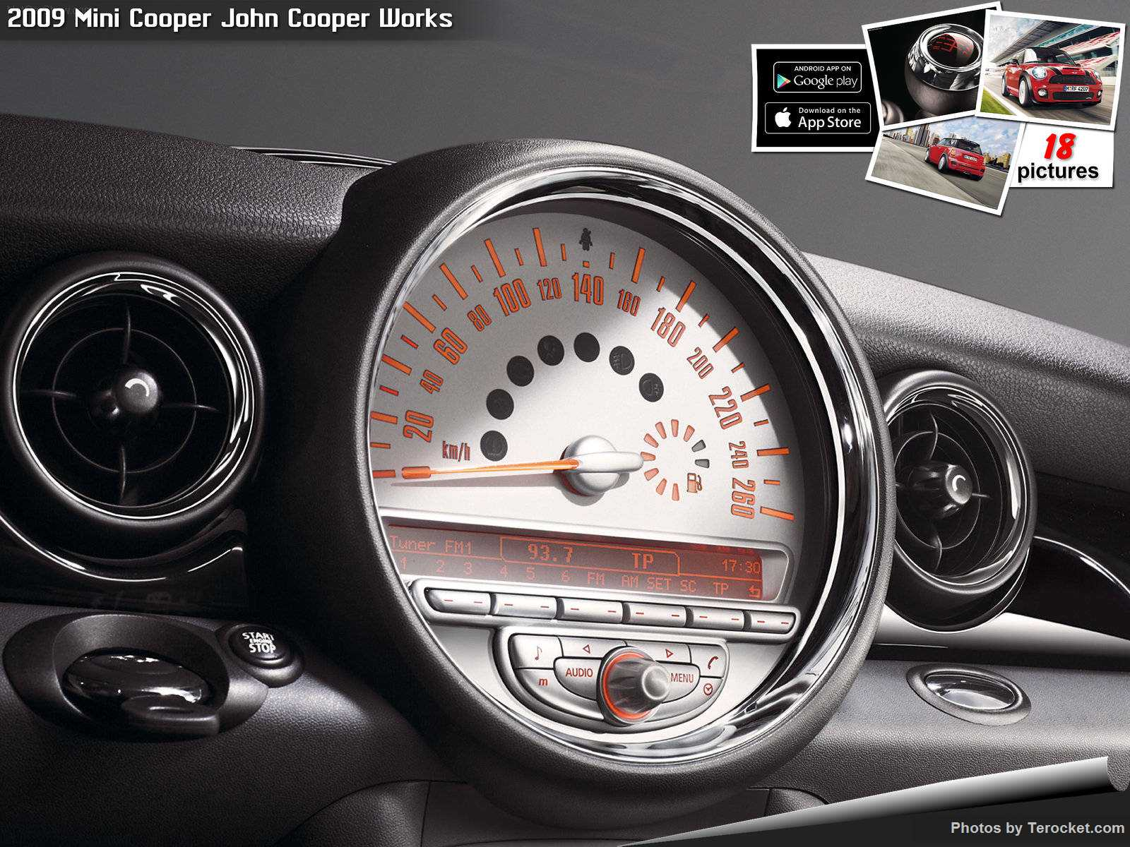 Hình ảnh xe ô tô Mini Cooper John Cooper Works 2009 & nội ngoại thất