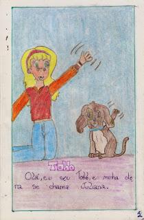 Tobb - um livro que fiz na minha infância. Pagina 1