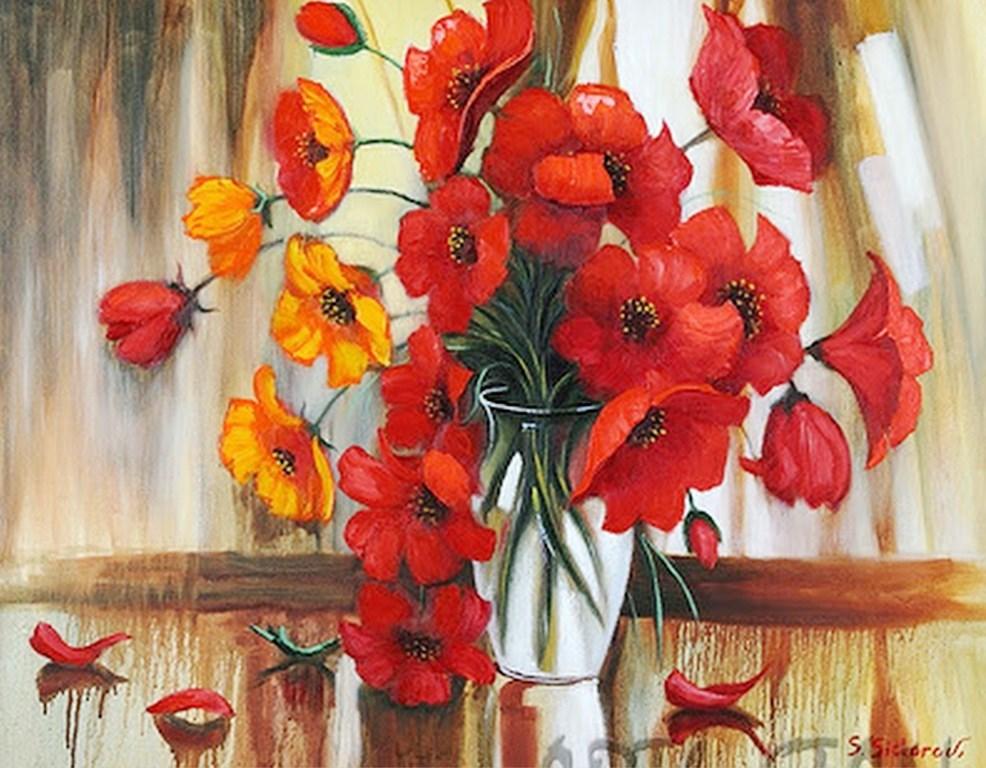 Cuadros pinturas oleos cuadros al oleo modernos - Cuadros para cocina para imprimir ...