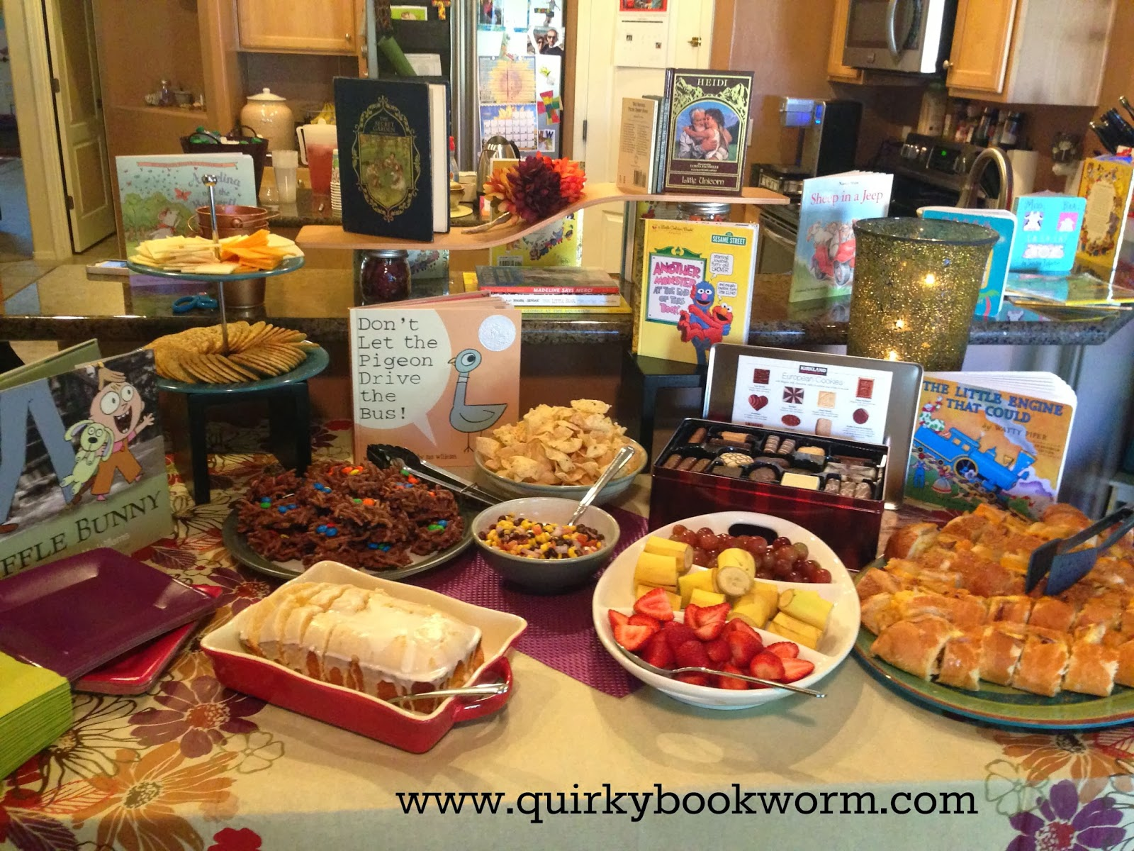 Quirky Bookworm How to Have a Gorgeous Book Themed Baby Shower