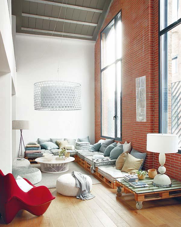 Hometrotter home style blog casa arredamento design getinspired pallet 1 - Opslag idee lounge ...