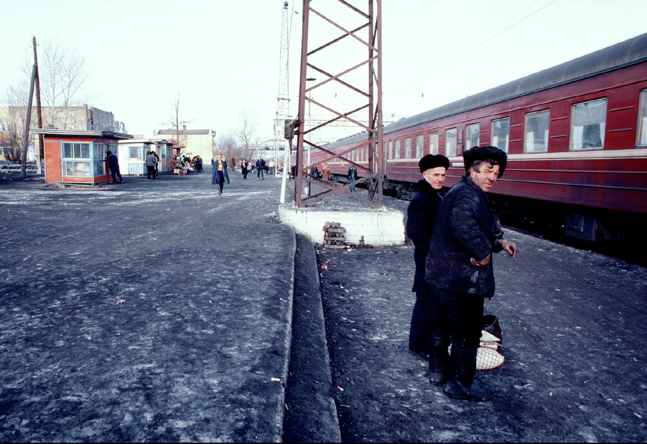Wonderful Colour Photographs Of Life In The Soviet Union
