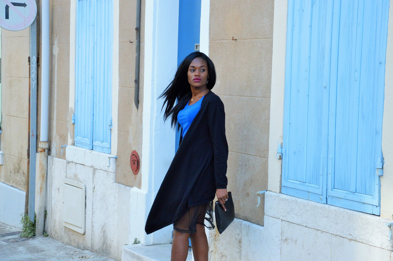 blog mode afro, blog mode marseille, look, jupe tulle, gilet woolovers