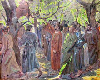 Incontro tra Zaccheo e Gesù
