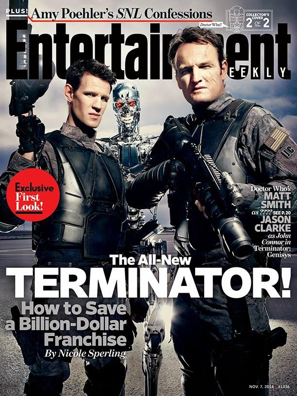 Matt Smith en Terminator: Genisys Portada EW