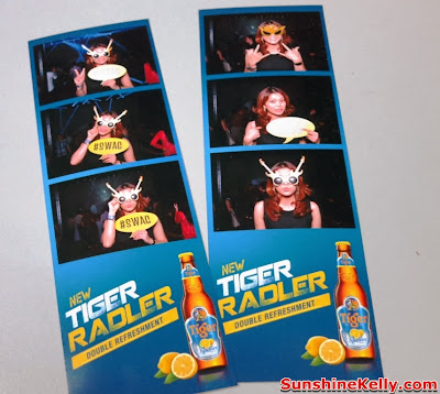 Tiger Radler, Double Refreshment, tiger beer malaysia, tiger beer, party, kl live, instant photo booth