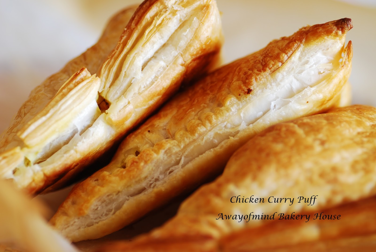 Awayofmind Bakery House: Easy Chicken Curry Puff