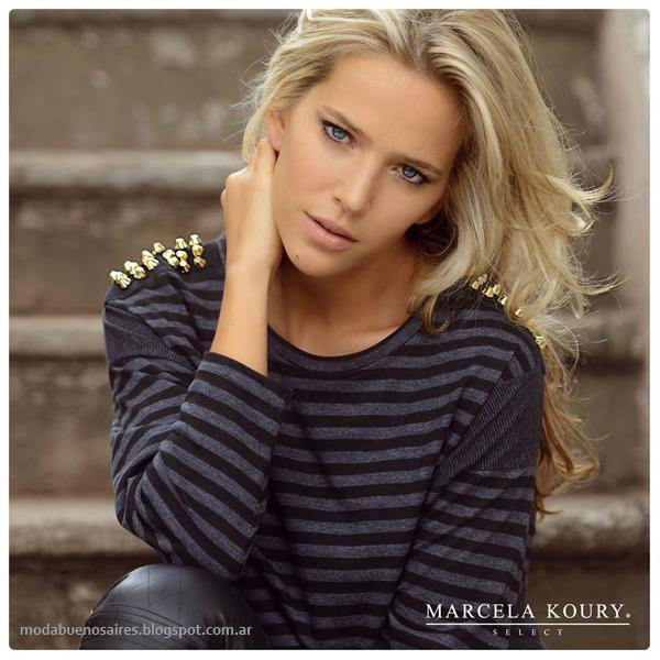 Moda invierno 2014 Marcela Koury Select invierno 2014.