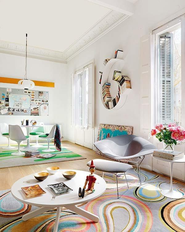 Chic and Artistic 105 Square Meters Apartment Design Inspiration ...
