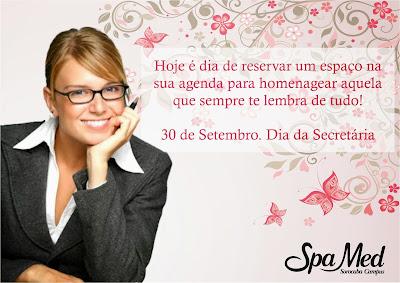 30 de Setembro Dia da Secretaria