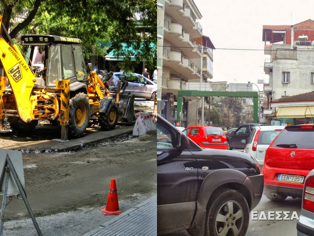 Δεν πάμε καλά! Αυτοί κλείνουν δρόμους...οι οδηγοί φταίνε για το κυκλοφοριακό