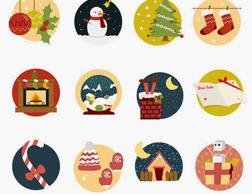iconos navideños gratis