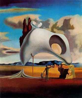 Salvador Dalí Vestigios atávicos después de la lluvia