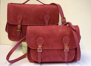 pink handmade satchel pink handmade briefcase