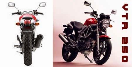 tampilan Honda VTR 250 Type LD