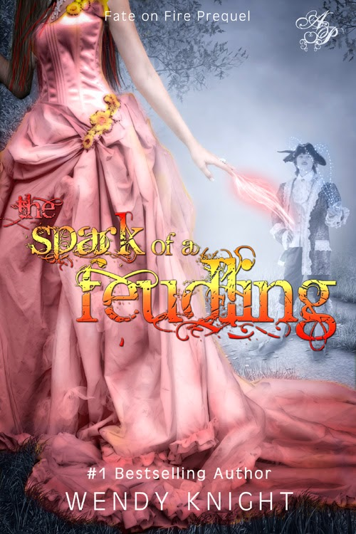 http://www.amazon.com/Spark-Fuedling-Fate-Fire-ebook/dp/B00J2I06E6/
