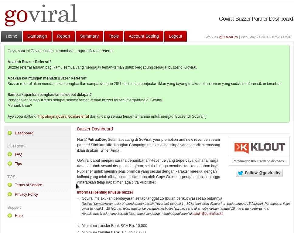 Cara Mendapatkan Uang Dari Social Media Goviral
