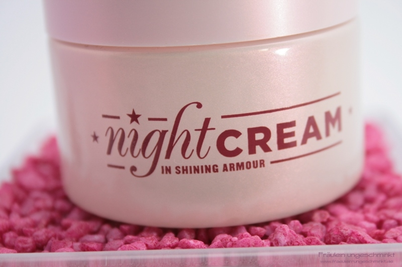 Soap & Glory Night Cream In Shining Armour Closeup