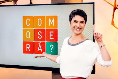 Sandra Annenberg comemora o aniversário de 1 ano do Como Será? - Crédito: Globo/Ramón Vasconcelos