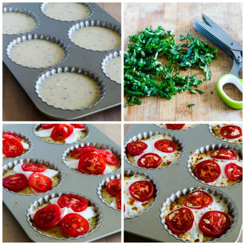 goat cheese and fresh herb omelet tomato tarts with basil and fresh ...