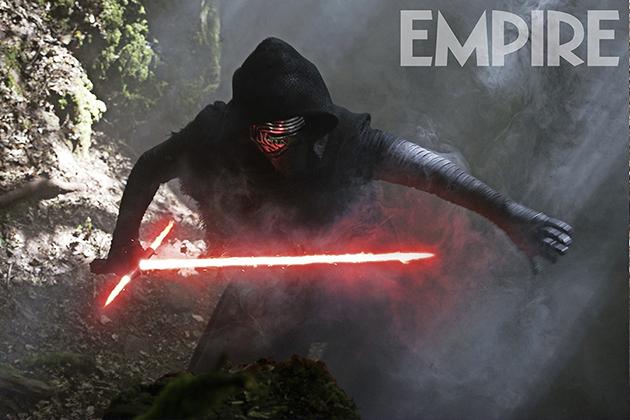 Kylo Ren y su espada en una nueva imagen de 'Star Wars: El despertar de la Fuerza'
