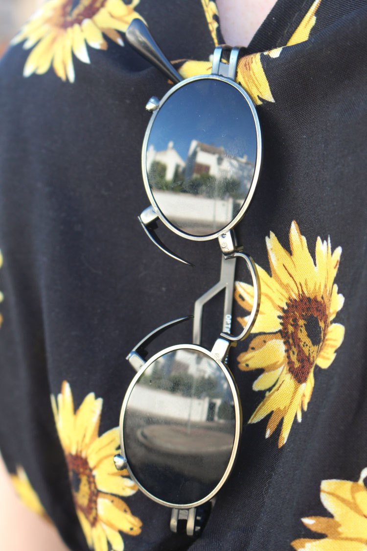 OOTD: Sunflowers jumpsuit